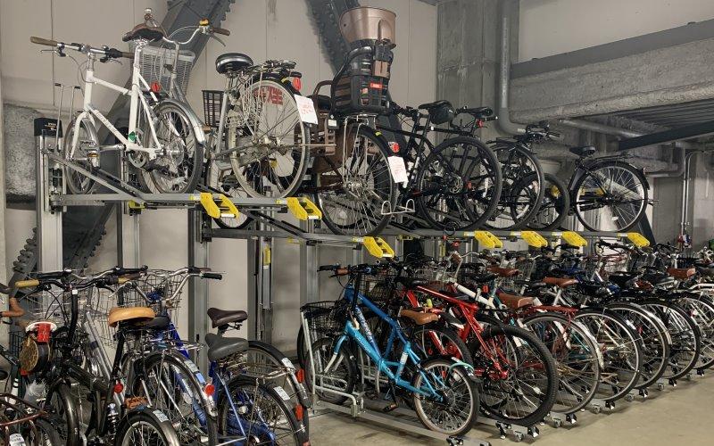 升降式自行車架